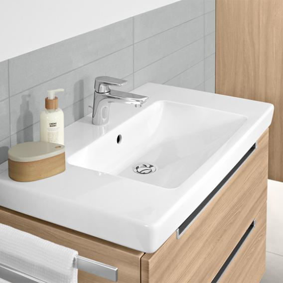 Villeroy & Boch Subway 2.0 washbasin with vanity unit with 2 pull-out compartments