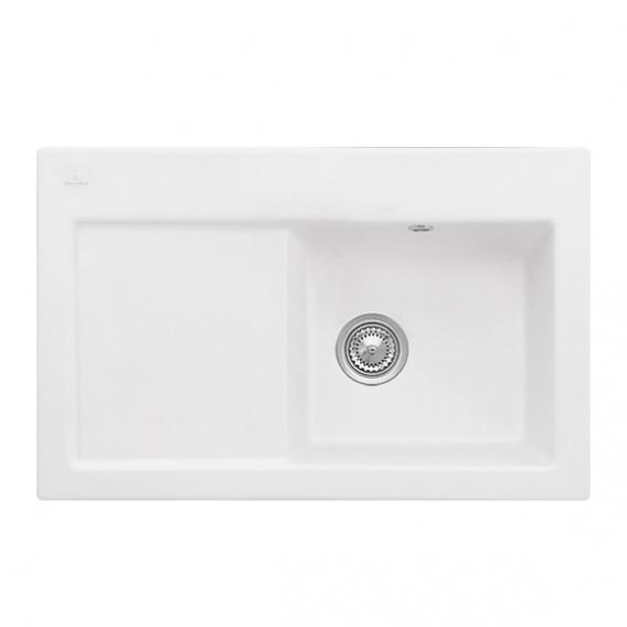 Villeroy & Boch Subway 45 sink white alpine high gloss/without tap hole