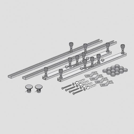 Villeroy & Boch Subway Infiniy installation system for shower trays