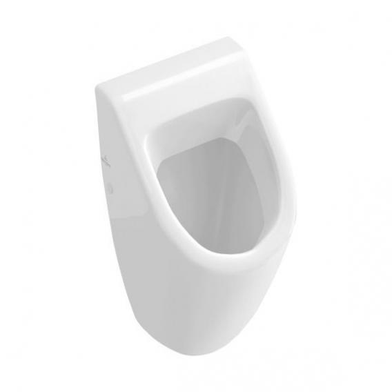 Villeroy & Boch Subway urinal, rear supply white, with CeramicPlus, with lid mounting