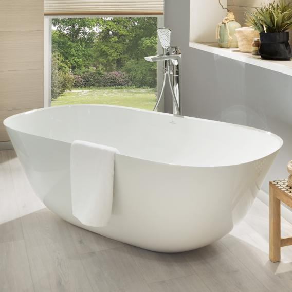 Villeroy & Boch Theano freestanding oval bath white