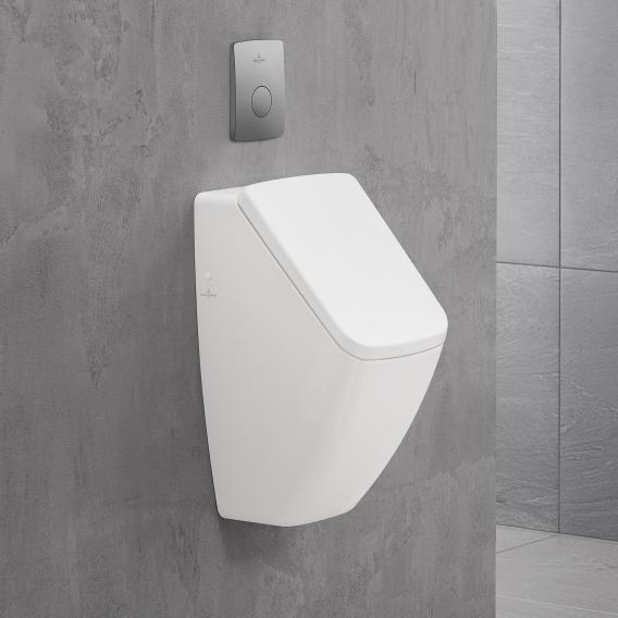 Villeroy & Boch Venticello DirectFlush urinal, rear supply white, with CeramicPlus, with lid mounting