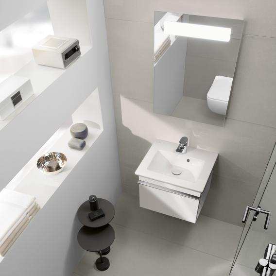 Villeroy & Boch Venticello hand washbasin with vanity unit and More to See 14 mirror
