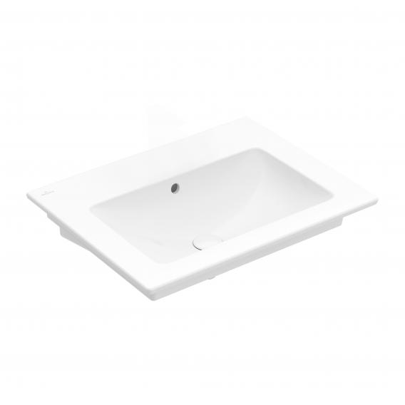 Villeroy & Boch Venticello washbasin stone white, with CeramicPlus, without tap hole