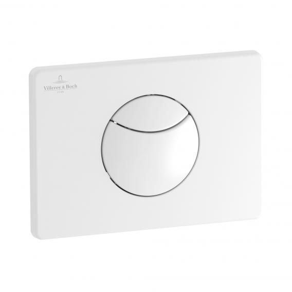 Villeroy & Boch ViConnect E100 toilet flush plate white