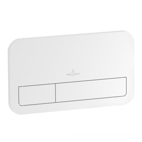 Villeroy & Boch ViConnect E200 flush plate white