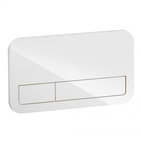 Villeroy & Boch ViConnect M200 flush plate glass, glossy white