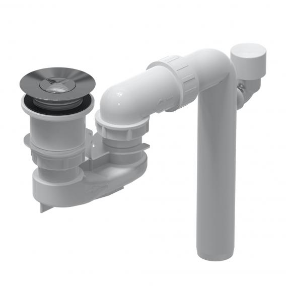 Villeroy & Boch ViFlow waste valve with overflow function chrome