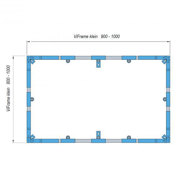 Villeroy & Boch ViFrame for small shower trays