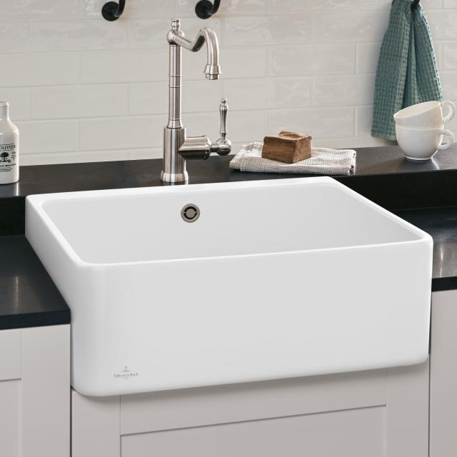 Villeroy & Boch 60 X butler sink stone white