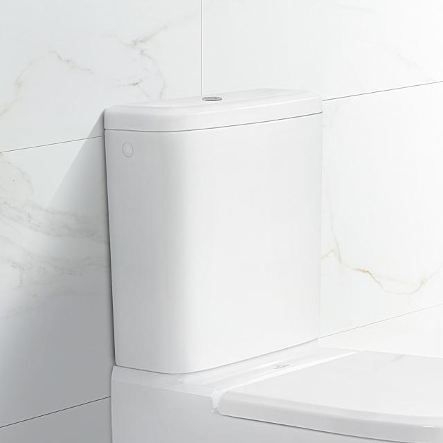 Villeroy & Boch Antheus cistern for close-coupled installation, side or rear inlet stone white, with CeramicPlus