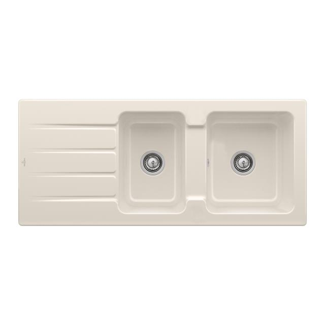 Villeroy & Boch Architectura 80 built-in sink cream gloss/without borehole