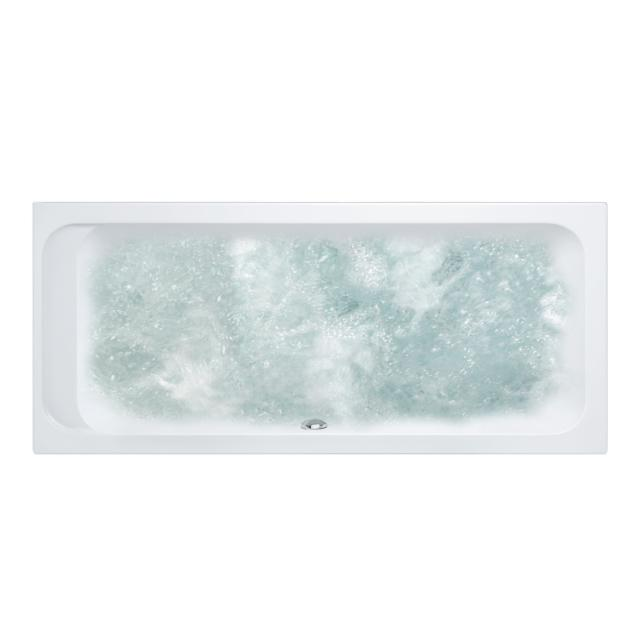 Villeroy & Boch Architectura Duo rectangular whirlbath, built-in white, with CombiPool Entry, with bath filler