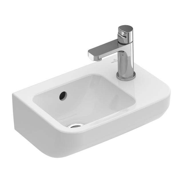 Villeroy & Boch Architectura hand washbasin white, with CeramicPlus, with overflow