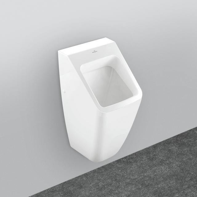 Villeroy & Boch Architectura urinal, rear supply white, with CeramicPlus