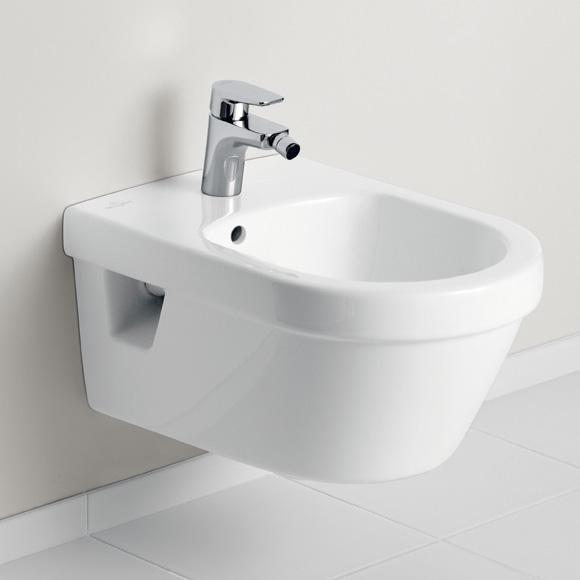 Villeroy & Boch Architectura wall-mounted bidet white, with CeramicPlus