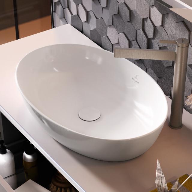 Villeroy & Boch Artis countertop washbasin white, with CeramicPlus