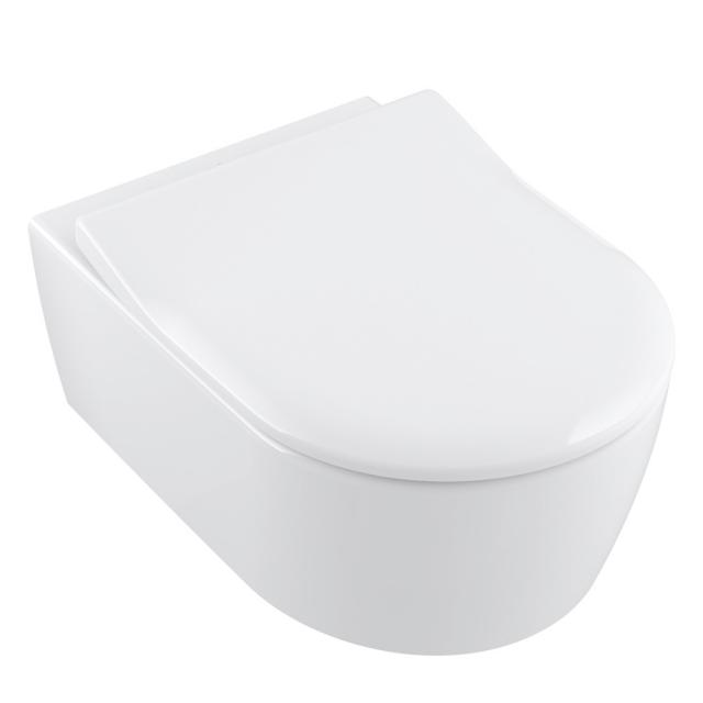 Villeroy & Boch Avento toilet seat Slim with Quick Release and soft-close