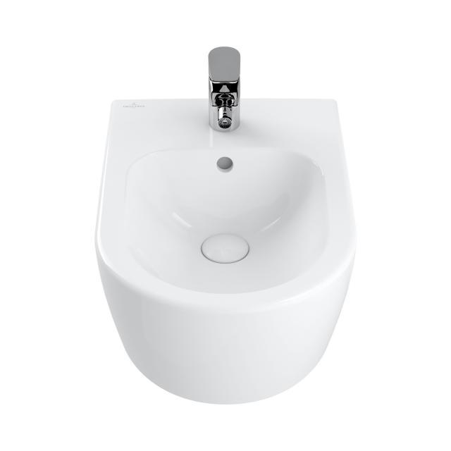 Villeroy & Boch Avento wall-mounted bidet white, with CeramicPlus