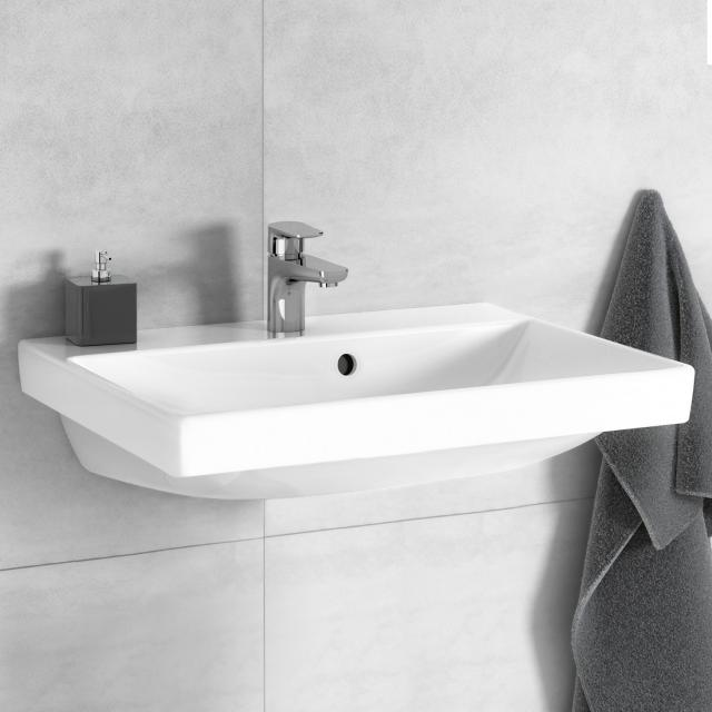 Villeroy & Boch Avento washbasin white, with Ceramicplus