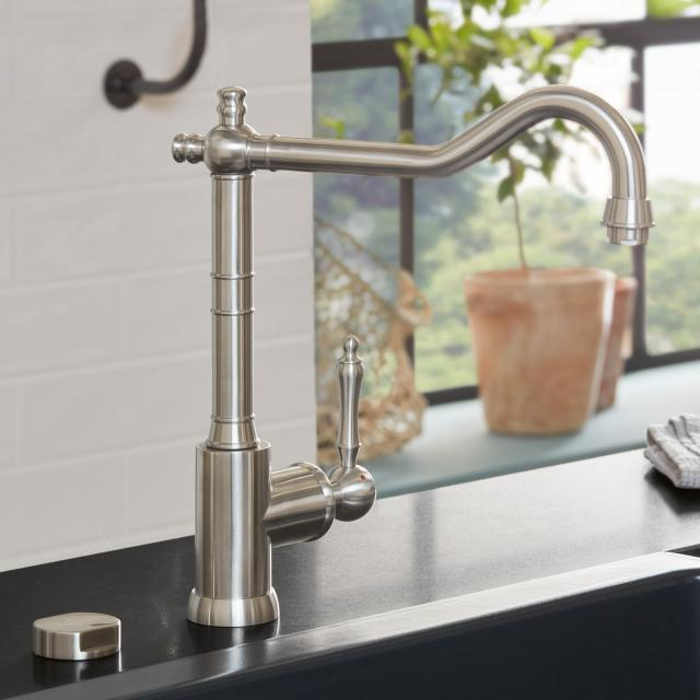 Villeroy & Boch Avia 2.0 single lever kitchen mixer stainless steel