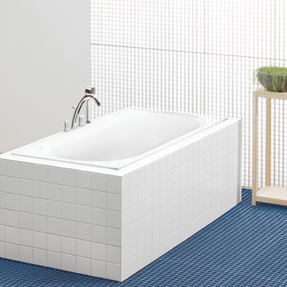 Villeroy & Boch Cetus rectangular bath, built-in white