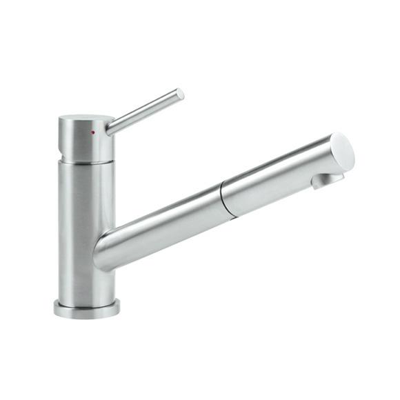 Villeroy & Boch Como Shower single lever kitchen mixer, low pressure stainless steel