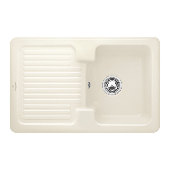 Villeroy & Boch Condor 45 sink ivory/without tap hole