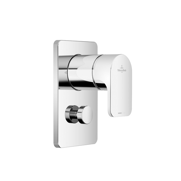 Villeroy & Boch Cult concealed single lever mixer with diverter chrome