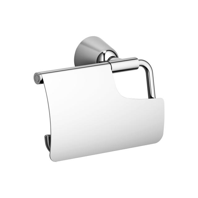 Villeroy & Boch Domicil toilet roll holder with lid chrome