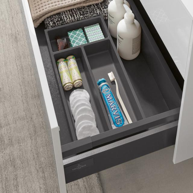 Villeroy & Boch Embrace organiser box L for bottom vanity unit pull-out compartment