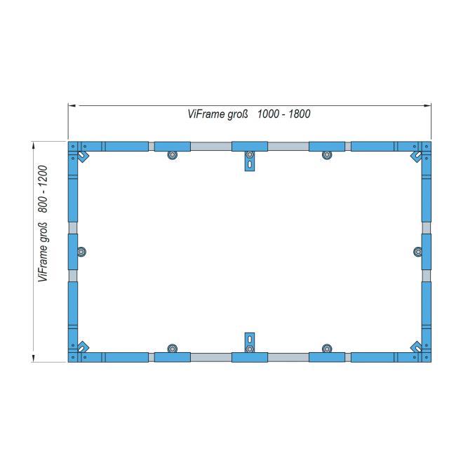 Villeroy & Boch Embrace ViFrame for larger shower trays