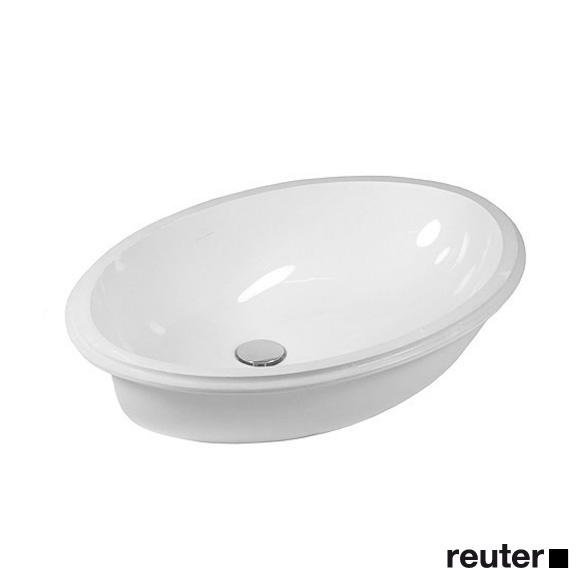 Villeroy & Boch Evana undercounter basin white, with overflow