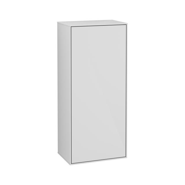 Villeroy & Boch Finion side unit with 1 door front glossy white / corpus glossy white