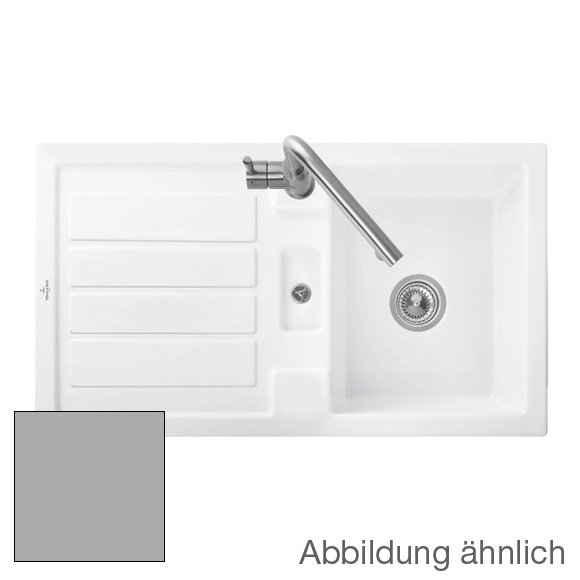 Villeroy & Boch Flavia 50 sink fossil/without tap hole