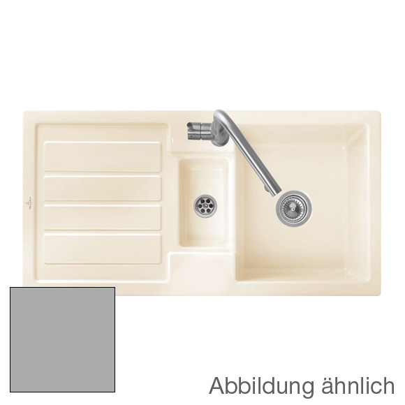 Villeroy & Boch Flavia 60 sink fossil/without tap hole