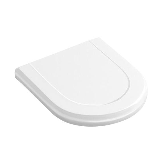 Villeroy & Boch Hommage toilet seat white, with QuickRelease and soft-close