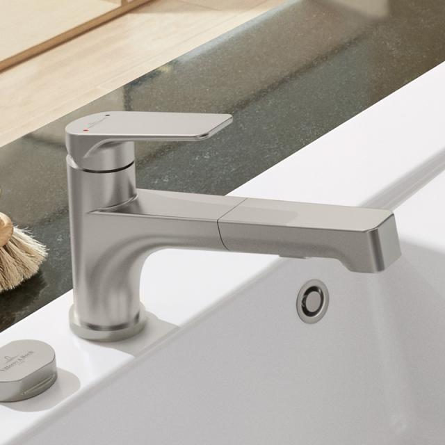 Villeroy & Boch Junis Shower single lever kitchen mixer