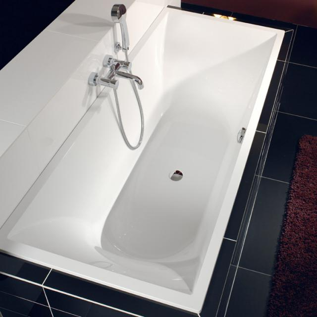 Villeroy & Boch La Belle rectangular bath, built-in white