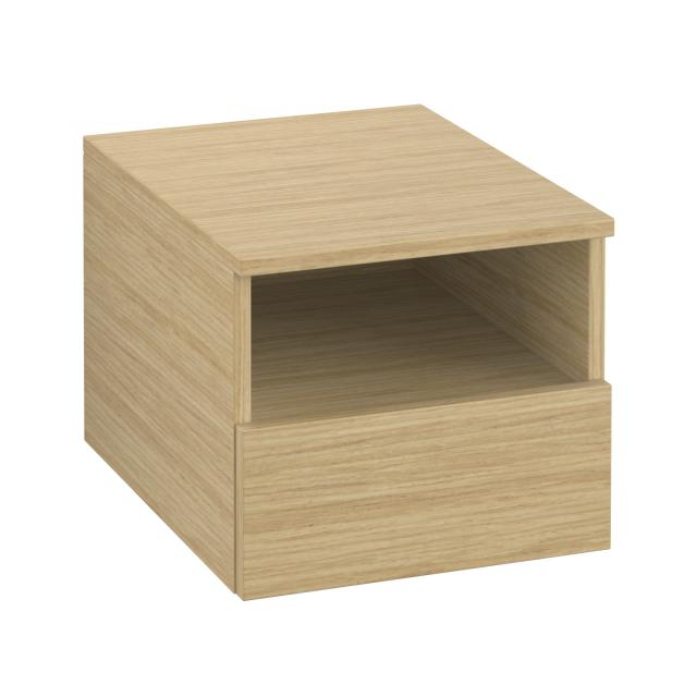 Villeroy & Boch Legato add-on unit with pull-out compartment front nordic oak / corpus nordic oak