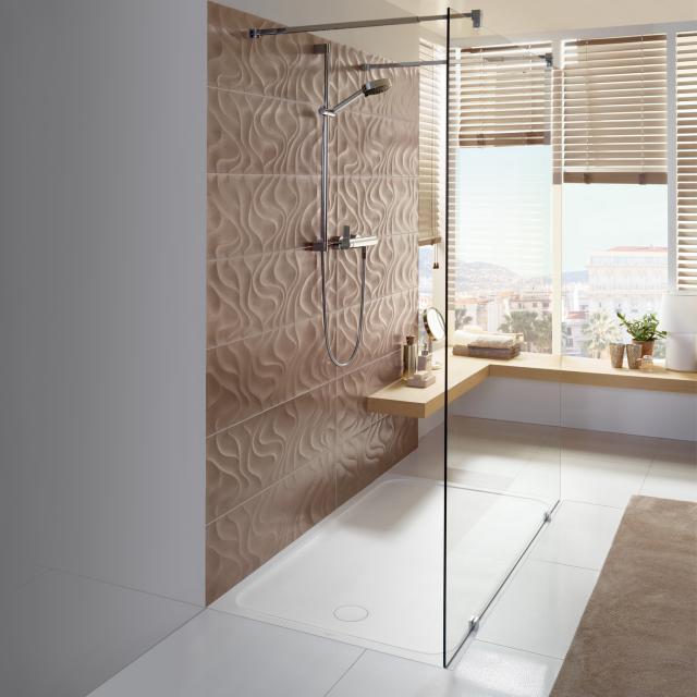 Villeroy & Boch Lifetime Plus Receveur de douche blanc, avec revêtement antidérapant Antislip