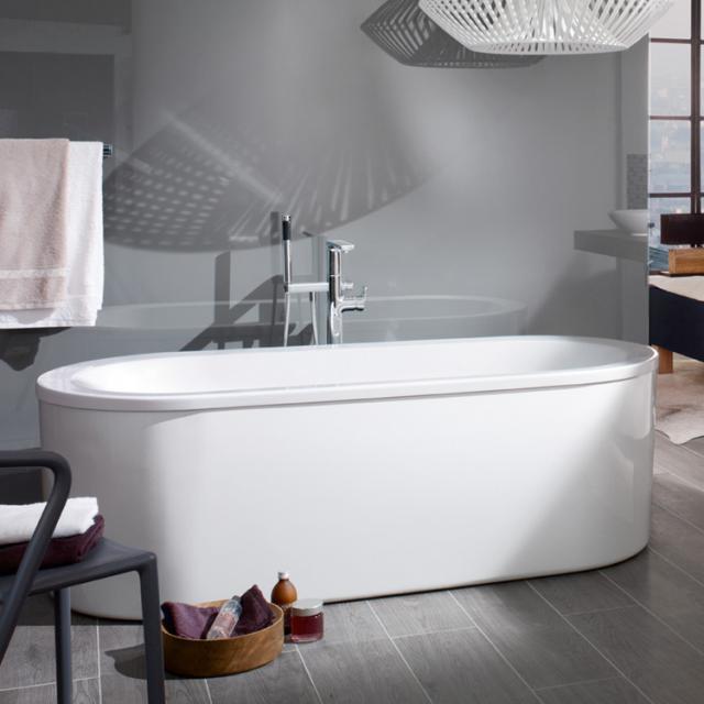 Villeroy & Boch Loop & Friends Duo freestanding Oval bath white