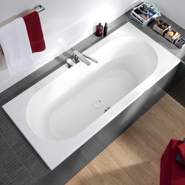 Villeroy & Boch Loop & Friends Solo rectangular bath, built-in white