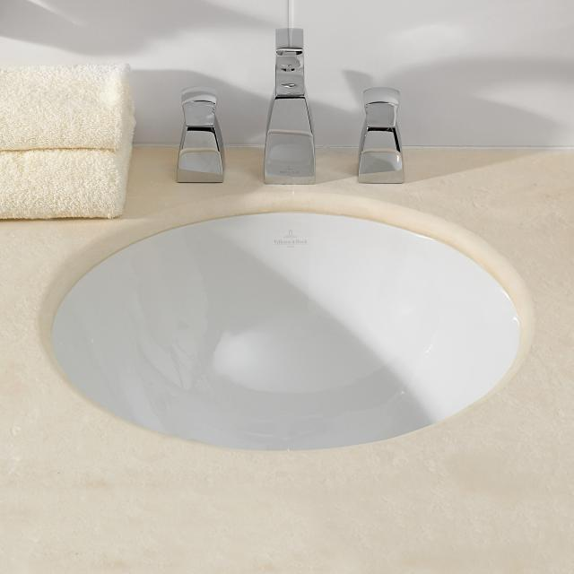 Villeroy & Boch Loop & Friends undercounter basin, round white, without overflow