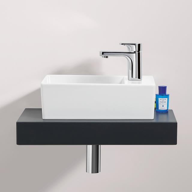 Villeroy & Boch Memento 2.0 hand washbasin white, with CeramicPlus, grounded