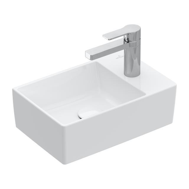 Villeroy & Boch Memento 2.0 hand washbasin white, with CeramicPlus, ungrounded