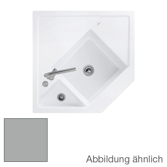 Villeroy & Boch Monumentum sink fossil/position boreholes 2 and 1