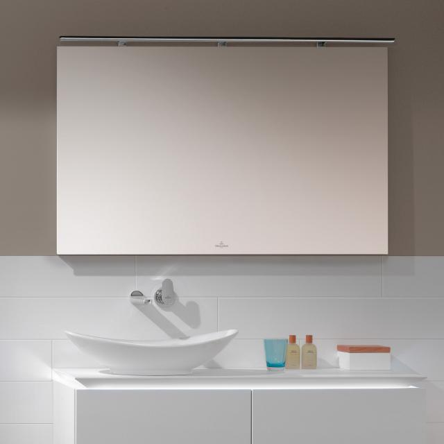 Villeroy & Boch More to See mirror with LED lighting