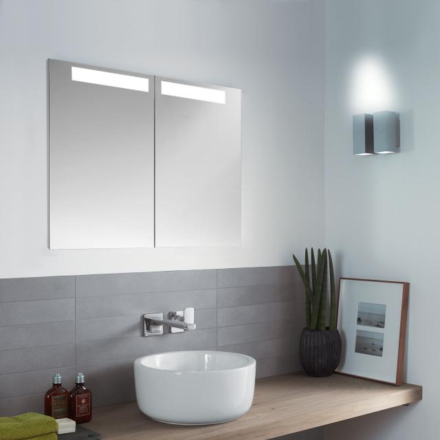 Villeroy & Boch My View-In recessed mirror cabinet with LED lighting with 2 doors