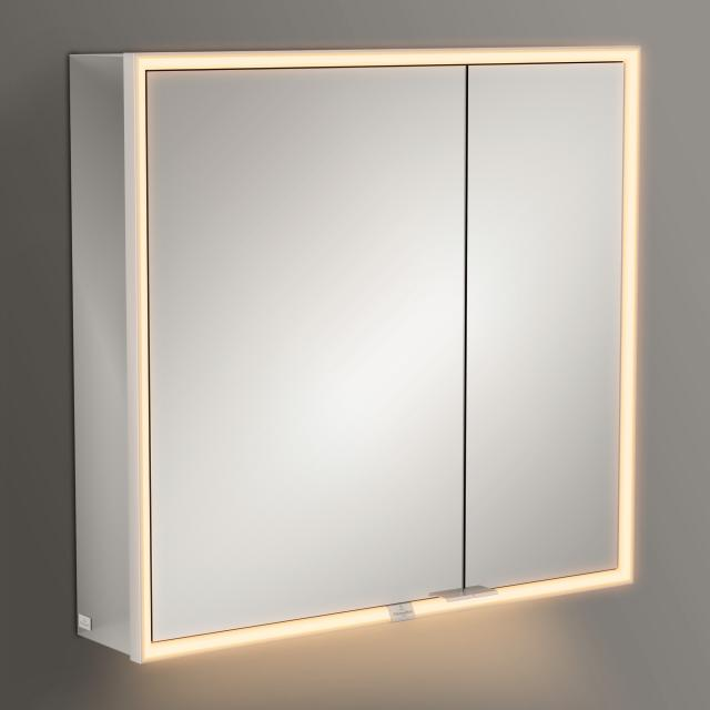 Villeroy & Boch My View Now mounted mirror cabinet with LED lighting with 2 doors SmartHome compatible